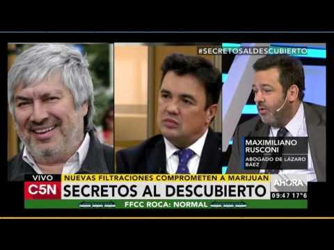 C5N - Justicia: Nuevas filtraciones comprometen al fiscal Marijuan