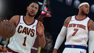 NBA 2K18 Knicks and Bulls Classic/Historic Teams Announced! Derrick Rose MVP vs Vintage Carmelo!