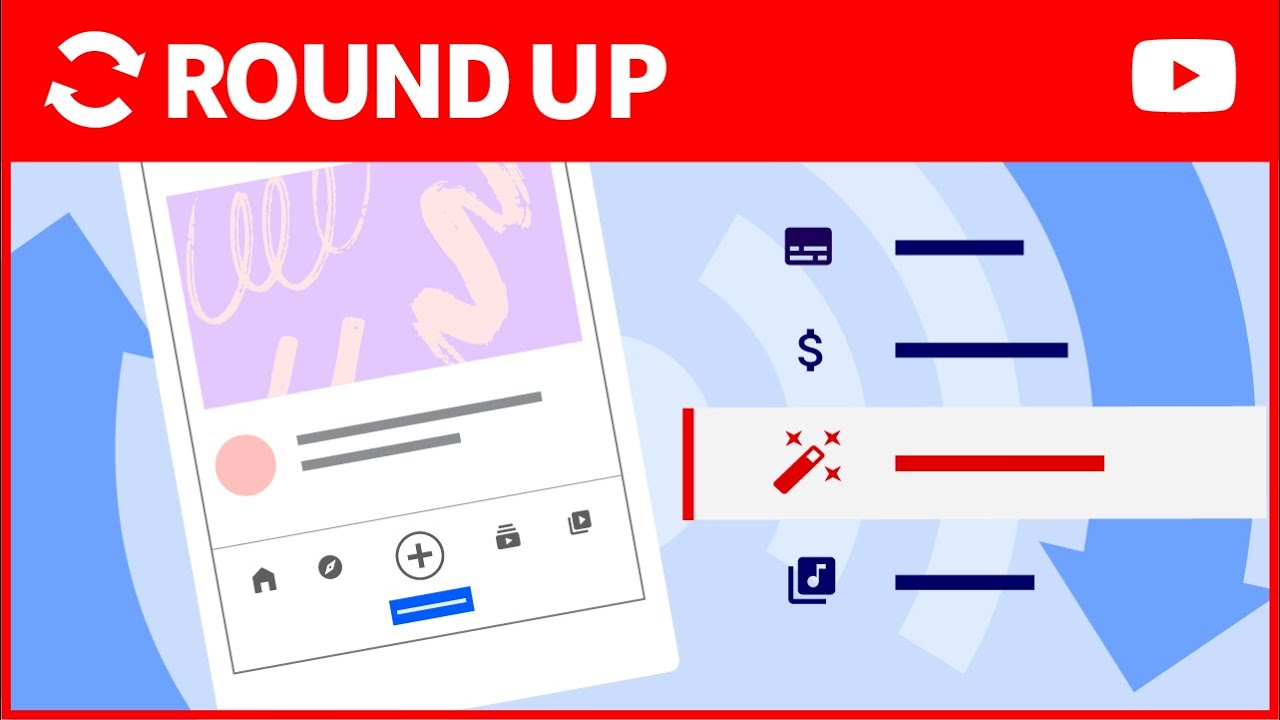 Updates to Mobile Creation, Stream Settings, New Profile Cards, and More! | Roundup by TeamYouTube