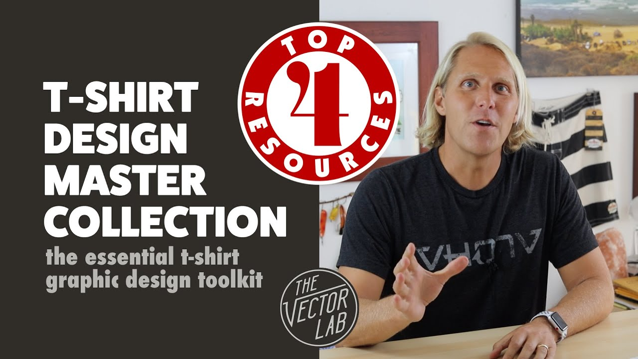T Shirt Design Resources | T Shirt Design Master Collection Top 4 Resources Youtube