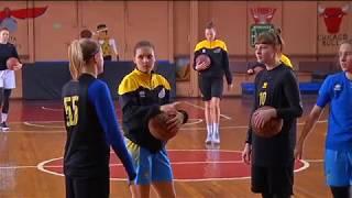 Дівчата Київ-Баскета - переможний настрій!