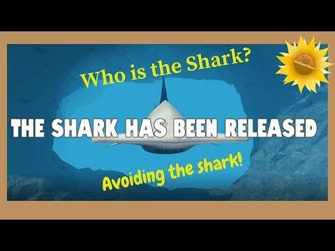 Roblox Sharkbite | Avoiding the shark!