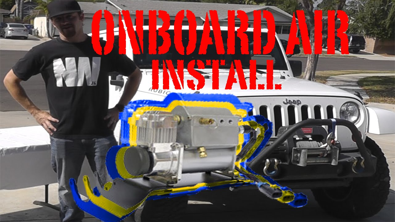 Jk onboard air installation viair ada 2012 jk kit newere4x4 jk onboard air installation viair ada 2012 jk kit newere4x4 youtube sciox Images