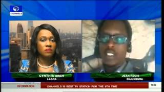 Network Africa: Jean Regis Comments On Nkurunziza Ally