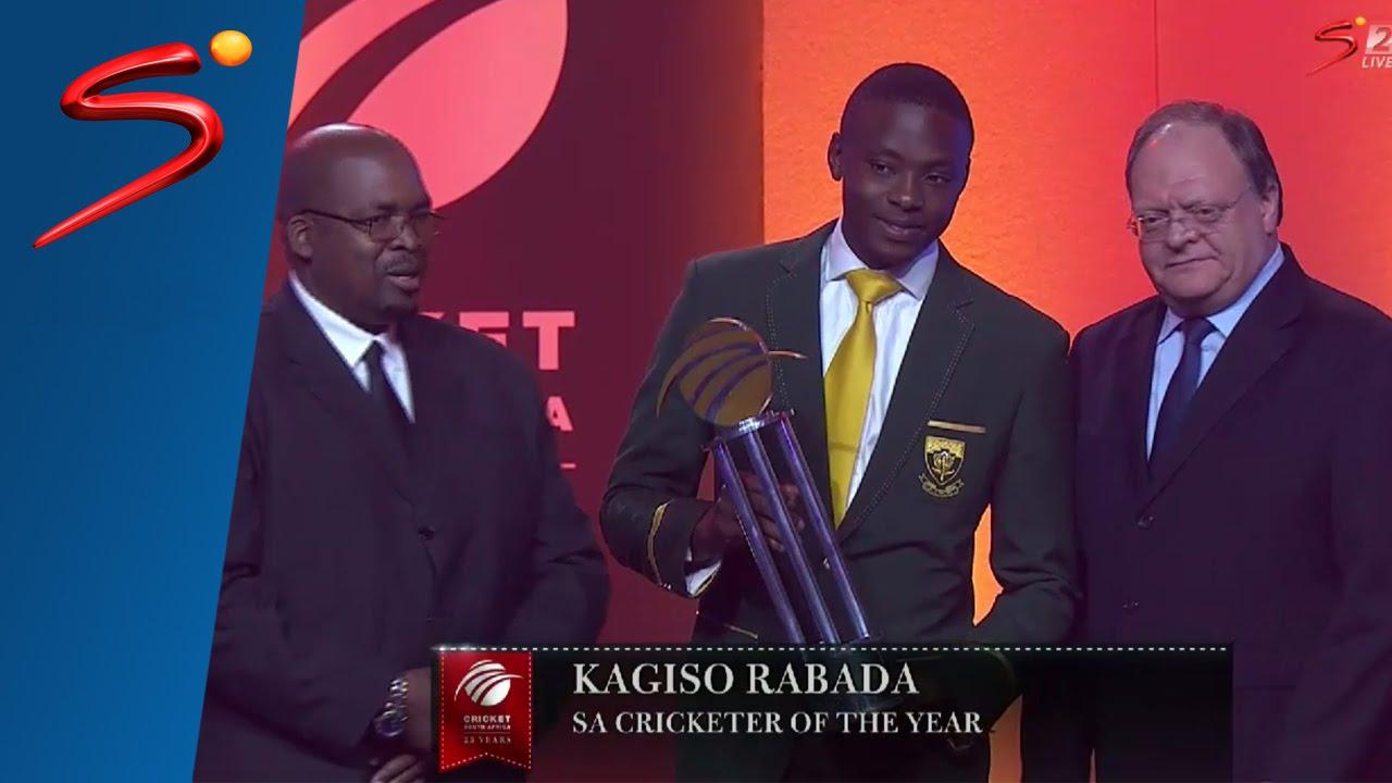 Kagiso Rabada hits awards for us his interview