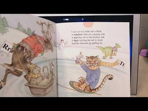 Read along book- I spy ABC