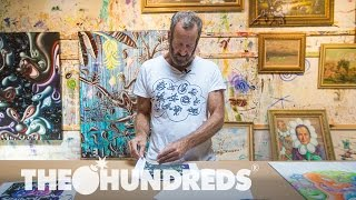 KENNY SCHARF :: IN THE STUDIO :: THE HUNDREDS
