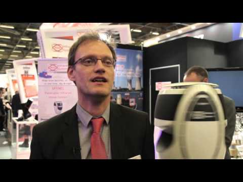 HGH infrared Systems Gildas Chauvel Milipol 2015 CCI Seine et Marne