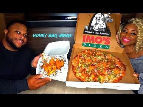 IMOS PIZZA, Honey BBQ, and Sweet and Tangy Wings, ST LOUIS