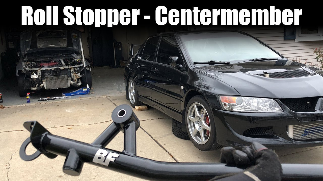 EVO Crossmember Install [Roll Stop / Centermember]  - Boosted Fabrication