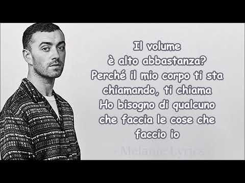 Calvin Harris ft Sam Smith - Promises  Traduzione in Italiano