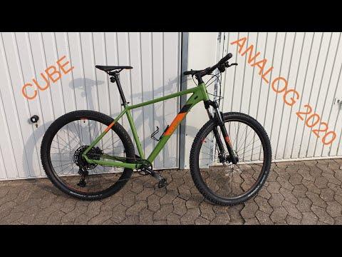 cube-analog-2020-(-green-and-orange-)-sram-sx-,-29-inch-walk-around
