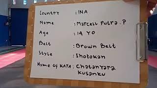 International karate online friendship game, shoshinkan filippines.