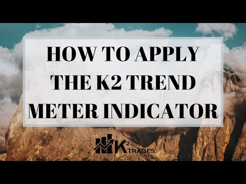 K2 TRADES - How To Apply The K2 Trend Meter Indicator