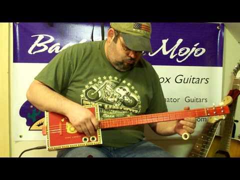 cigar box guitar #228 by Back porch Mojo