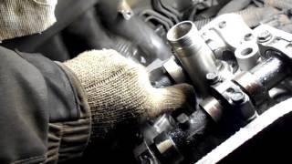 как отрегулировать клапана на тойоте карина,двигатель 4s fe ,№6
