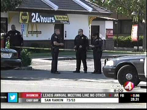 Six People Wounded In Shooting  Near McDonalds in East Palo Alto