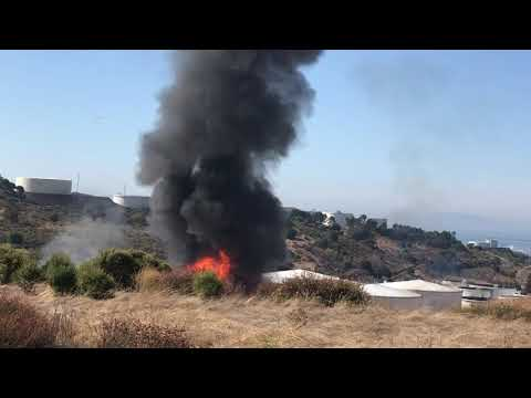Explosion at California storage tank farm