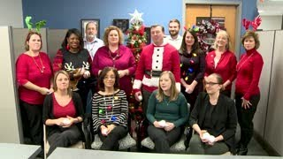 Procurement Department Holiday Greeting