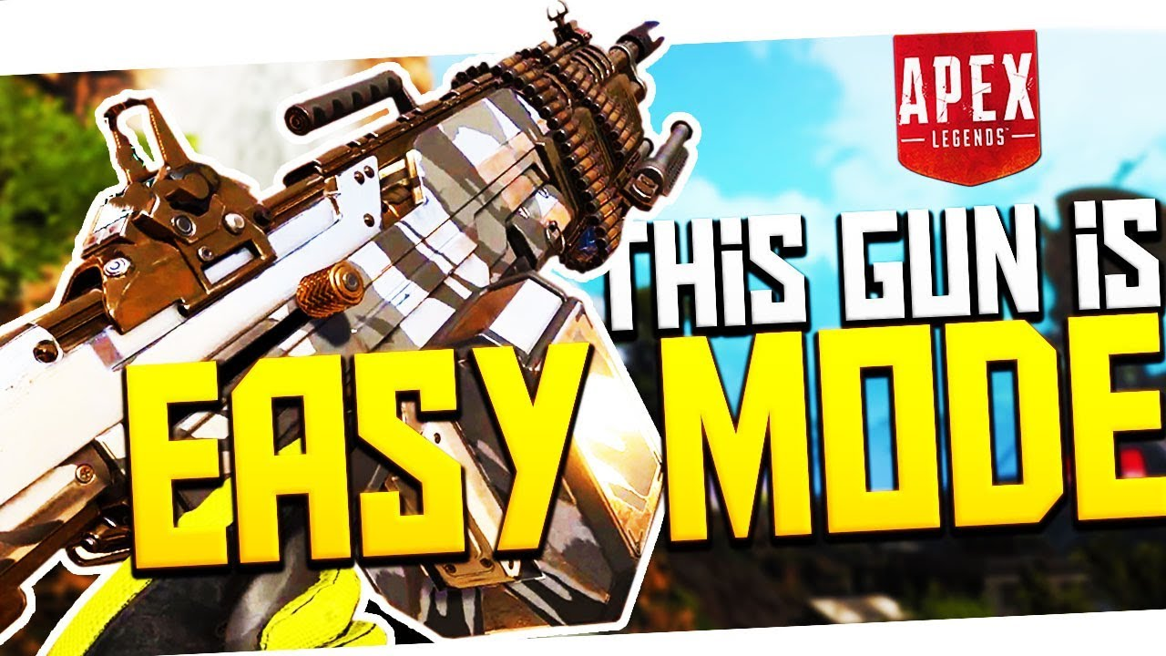 This Gun is EASY MODE! - PS4 Apex Legends!