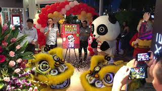 Official Grand Opening of the Hawker and Lion Dance