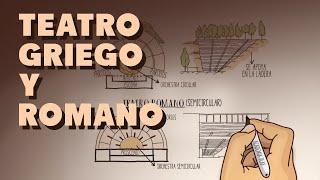 Diferencias arquitectónicas entre el Teatro griego y el Teatro romano
