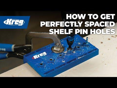 Kreg Shelf Pin Jig - YouTube