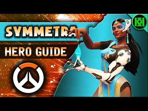 Overwatch: SYMMETRA Guide | Hero Abilities + Character Strategy | Symmetra Tips & Tricks