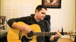 Thompson Square - Are You Gonna Kiss Me Or Not (Chris Smith Acoustic Cover)