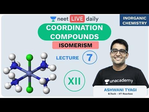 Coordination Compounds - L 7 | Isomerism | Unacademy NEET | LIVE DAILY | Chemistry | Ashwani Sir