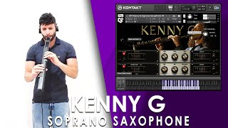 VST Kenny G Soprano Saxophone - Kontakt Sample Library - EWI USB