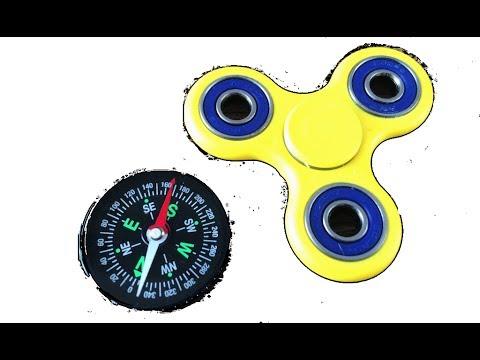 Stres Çarkı Pusulayı Şaşırttı , Fidget Spinner Broke The Compass