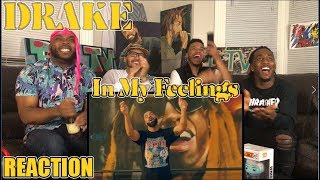 DRAKE - IN MY FEELINGS OFFICIAL MUSIC VIDEO REACTION/REVIEW