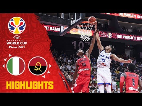 Italy v Angola - Highlights - FIBA Basketball World Cup 2019