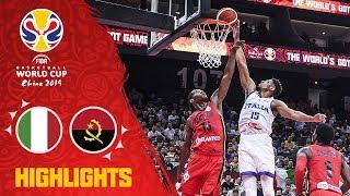 Italy v Angola - Highlights - FIBA Basketball World Cup 2019