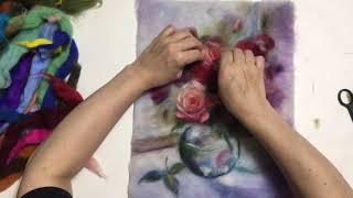 Фрагмент видеоурока «Мелодия роз»