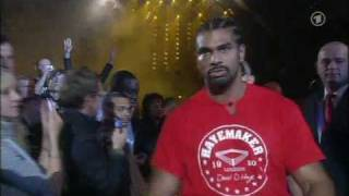 David Haye Entrance (Valuev).avi