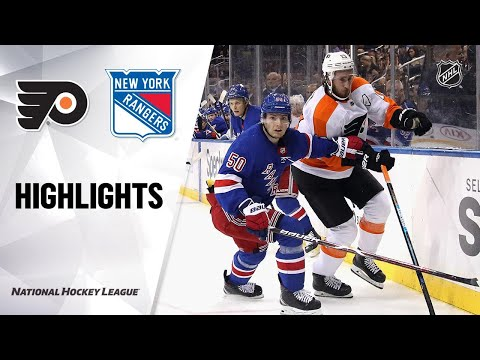 09/26/19 Condensed Game: Flyers @ Rangers