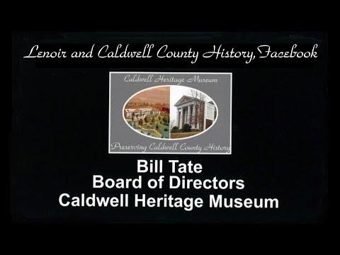 Lenoir and Caldwell County History, Rotary Presentation.