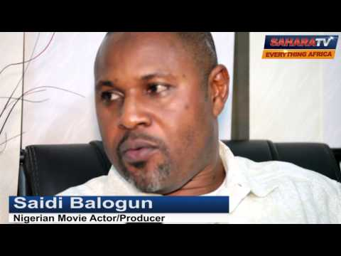 Sound Off On SaharaTV With Actor And Producer, Saheed Balogun