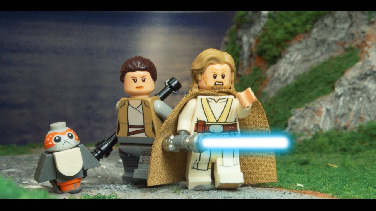 Lego Star Wars The Last Jedi Luke Skywalker En Ahch To Youtube