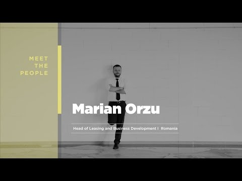 Meet the team: Marian Orzu, Head of Leasing Romania