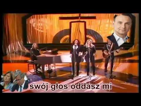 Andrzej Duda uwodzi lemingi (Abba: Take a chance on me)