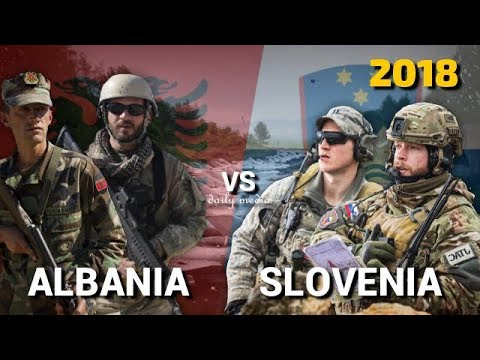 Albania vs Slovenia - Military Power Comparison 2018
