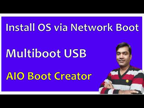 AIO Boot Creator | How To Install OS Through Network Boot (step By Step) (PXE Server) (Hindi)
