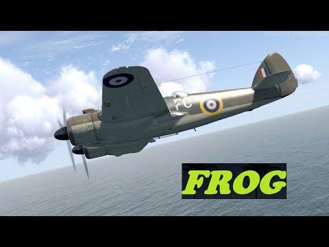 Bristol Beaufighter Takes Out 6 Messerschmitt Bf110C-7 IL-2 Sturmovik: Cliffs Of Dover