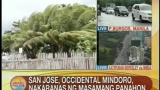 UB: San Jose, Occidental Mindoro, nakaranas ng masamang panahon