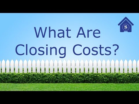 What are closing costs in a home purchase?  Who pays what closing costs and fees when buying a home?
