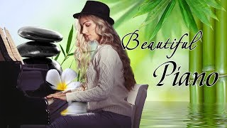 Download Lagu Beautiful Piano Music - Relaxing Music for Stress Relief - Calm Piano Music with Water Sounds mp3
