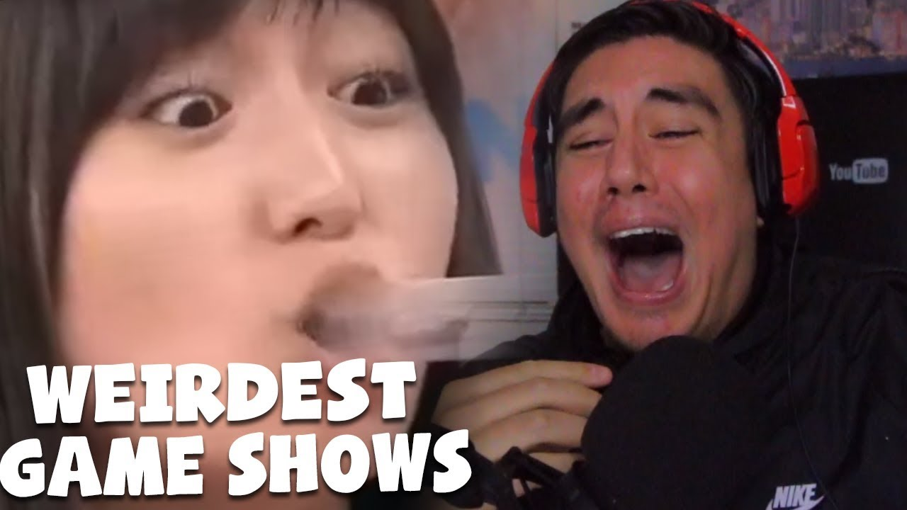 Reacting To The Weirdest Japanese Game Shows Ever Created